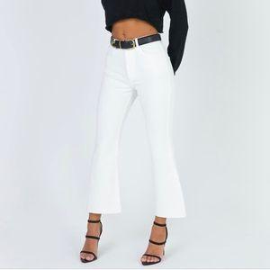Princess Polly Faye Cropped jeans